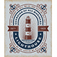 Vintage Lighthouse Typography - GraphicRiver Item for Sale