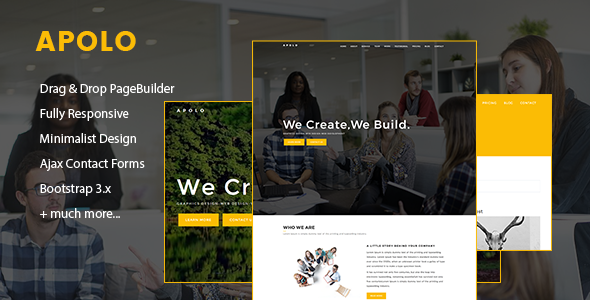 Image of Apolo // Onepage Creative Business Joomla Template