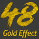 48 Gold Effect V01 - GraphicRiver Item for Sale