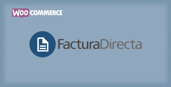 WooCommerce FacturaDirecta - CodeCanyon Item for Sale