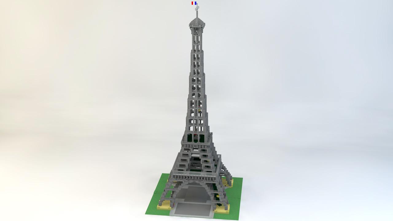 Tour Eiffel Bricks