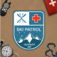 Mountain Ski Patrol & Camping Badges - GraphicRiver Item for Sale