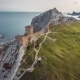 Ruins Of The Ancient Turkish Fortress In Crimea - VideoHive Item for Sale