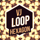 Gold Hexagons Dj Loop - VideoHive Item for Sale