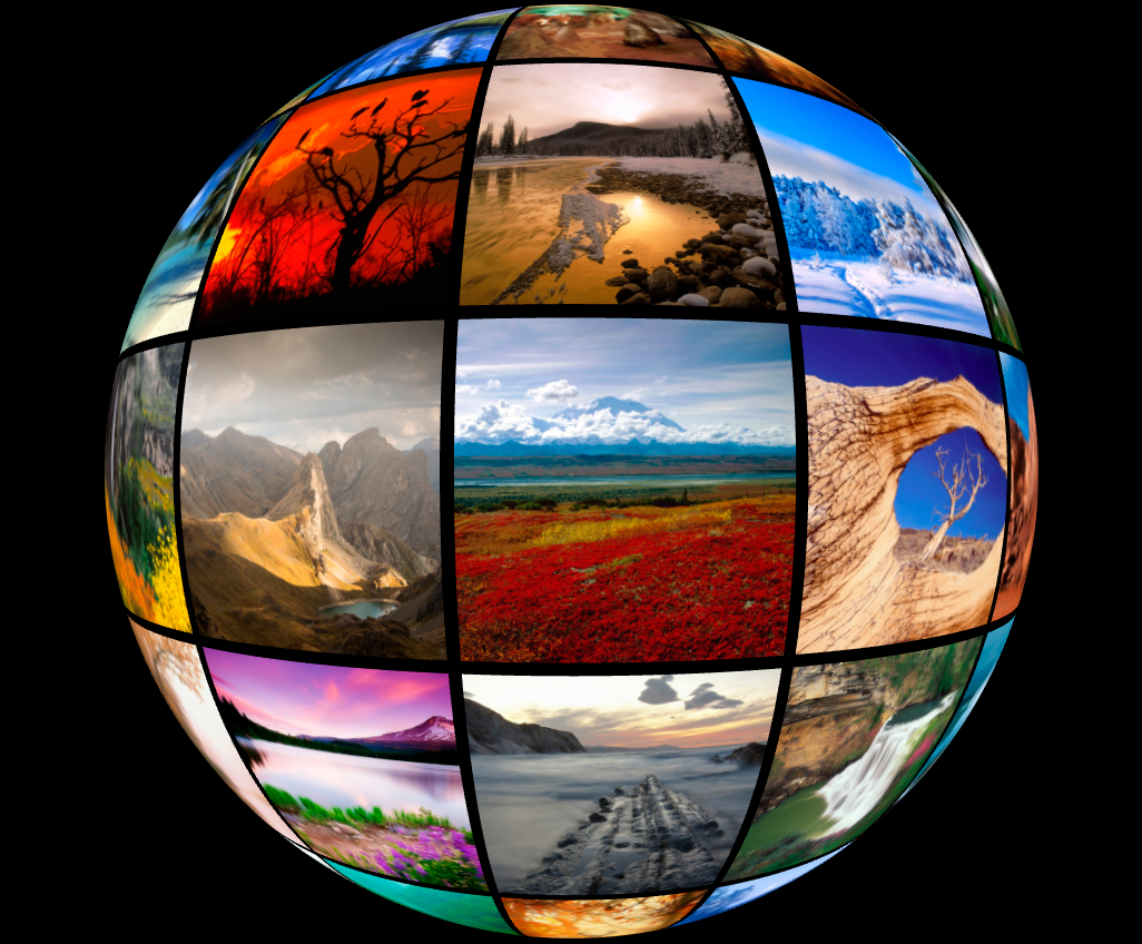3D Spherical Image Gallery by FinancialTechnology CodeCanyon