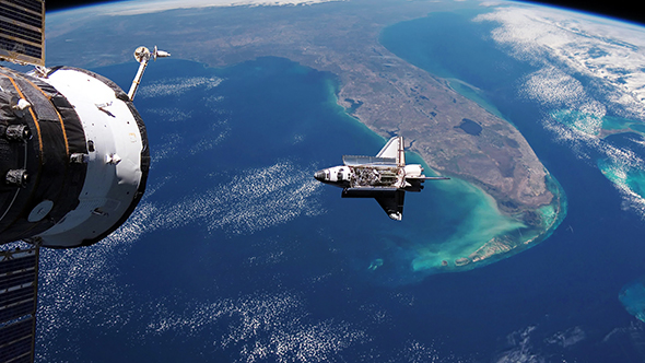 space shuttle trip around earth - photo #42
