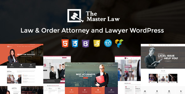 Master Law Agency And Lawyer WordPress Theme – Lawyer WP