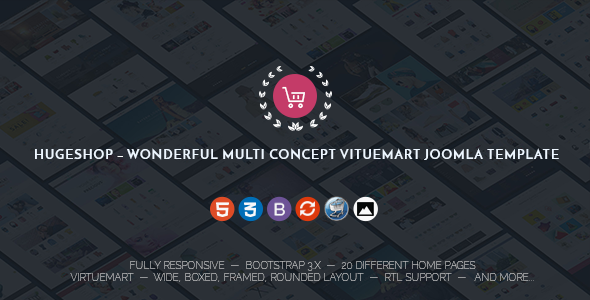 HugeShop Multipurpose Joomla Template