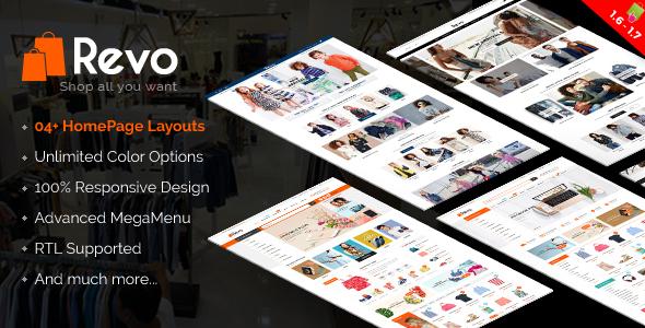 Revo – Premium Responsive Prestashop 1.6 and 1.7 Mega Store Theme