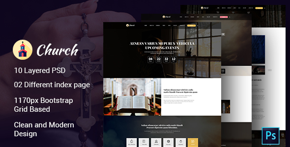 Church PSD Template