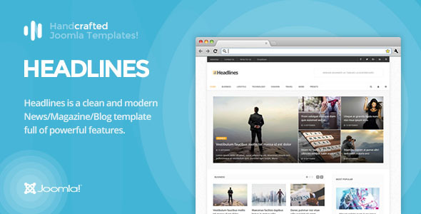 Image of IT Headlines - Gantry 5, News/Magazine & Blog Joomla Template