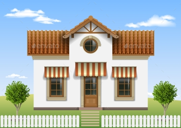 Beautiful Small House - Buildings Objects