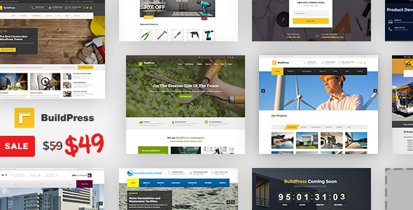 BuildPress – Multi-purpose Construction and Landscape WP Theme