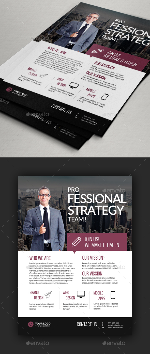 Multipurpose Corporate Flyer Designs - Corporate Flyers