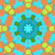 Colorful Hexagons Flower Dj Loop - VideoHive Item for Sale