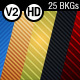 25 Stripes Backgrounds HD - VideoHive Item for Sale
