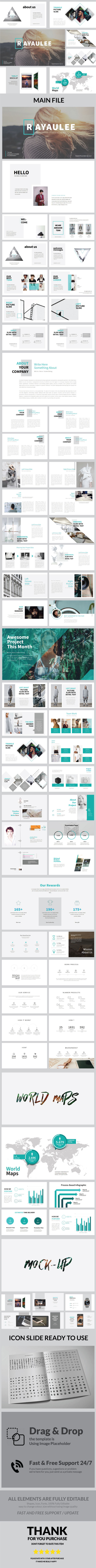 Raya Ulee Multipurpose Powerpoint - Business PowerPoint Templates