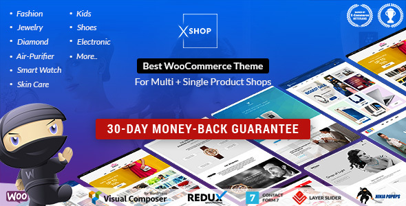 Best WooCommerce Theme | XSHOP