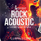 Rock Acoustic Music Flyer Template - GraphicRiver Item for Sale