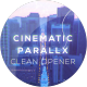 Cinematic Clean Parallax Opener | Slideshow - VideoHive Item for Sale