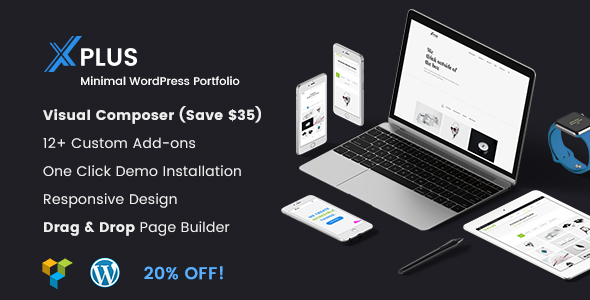 Promax- Minimal WordPress Portfolio Theme