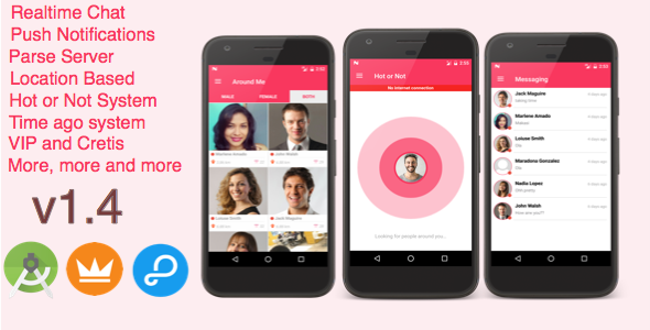 AroundMe - More than a complete Dating App (Android) Parse Server - CodeCanyon Item for Sale