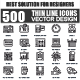 Set of Thin Line Icons for Business - GraphicRiver Item for Sale