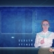 Business Woman Makes a Financial Analysis on Touch Screens. Financial Trading - VideoHive Item for Sale
