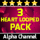 Heart Looped Pack