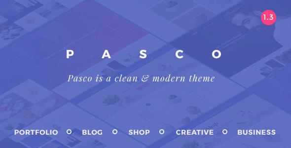 Pasco - Creative Multi-Purpose WordPress Theme - Portfolio Creative