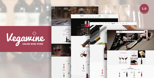 VG VegaWine – Wine, Winery and Vineyard WooCommerce Theme