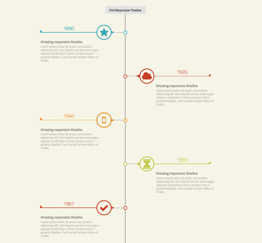 first responsive timeline by toghrool codecanyon