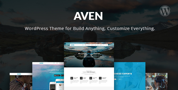 Aven - Feature Packed Multiuse WordPress Theme - Creative WordPress