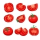 Tomato Sliced Set - GraphicRiver Item for Sale