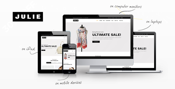 Image of Julie - Prestashop Fashion Theme