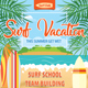 Surf Vacation Flyer Template 145 - GraphicRiver Item for Sale