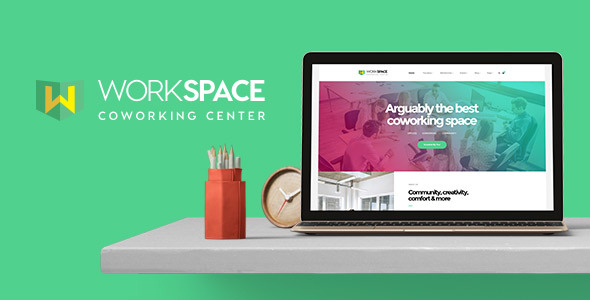 Workspace - Creative Office Space WordPress Theme