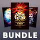 Mardi Gras Flyer Bundle Vol.02 - GraphicRiver Item for Sale