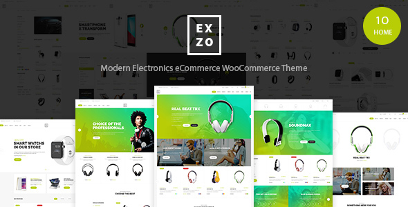 Modern Electronics eCommerce WordPress Woocommerce Theme – Exzo