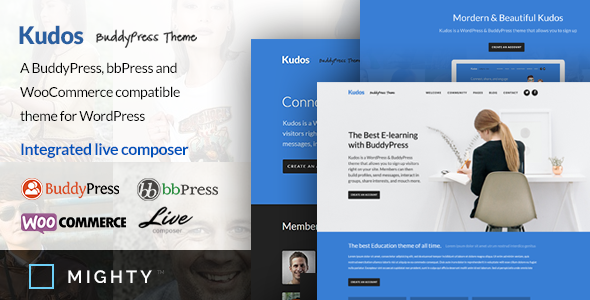 Kudos BuddyPress Theme by MeetMighty | ThemeForest