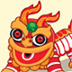 Chinese Lion Dancer - GraphicRiver Item for Sale