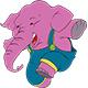 Happy Elephant - GraphicRiver Item for Sale