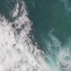 Flying Over Ocean with Big Foamy Waves - VideoHive Item for Sale