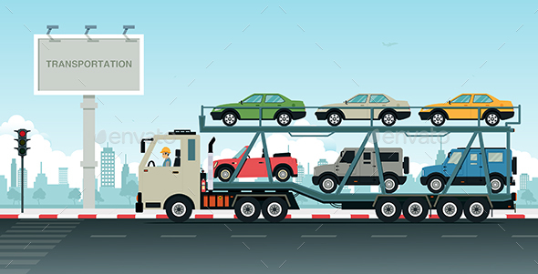 Truck Transport Vehicles - Industries Business