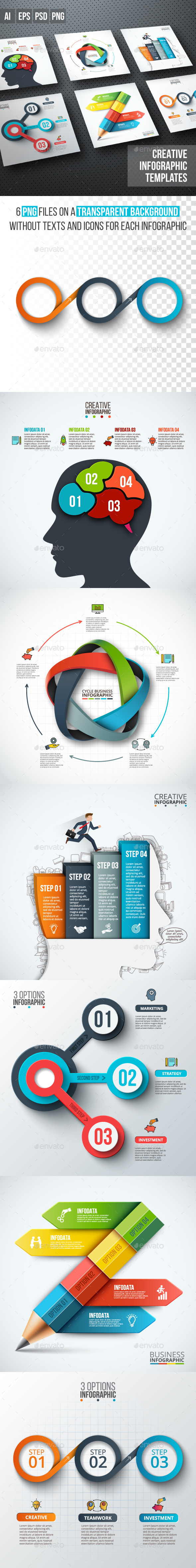 Business infographic diagrams v.11 - Infographics