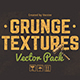 Grunge Textures Vector Pack - GraphicRiver Item for Sale