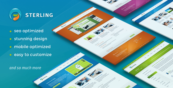 Sterling - Responsive Wordpress Theme - Business Corporate