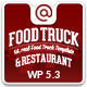 Food Truck & Restaurant 20 Styles - WP Theme Nulled