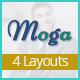 Moga-Responsive Email Template + Online Builder