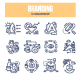 Branding Doodle Icons - GraphicRiver Item for Sale
